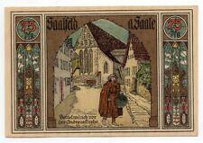 Duitsland / Germany - notgeld - Saalfeld - 75 Pfennig