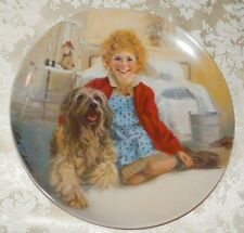 1983 KNOWLES ANNIE and SANDY Collector Plate by William Chambers COA/Box