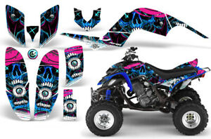 ATV Graphics kit Sticker Decal for Yamaha Raptor 660 01-05 FRENZY BLUE