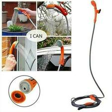 Camping Car Shower Spray Pump Kit Portable Vehicle Hiking Travel Outdoor