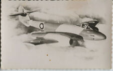 Postcard 1560 - Aircraft/Aviation Real Photo Gloster Meteor