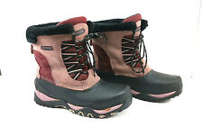 Ranger Thermolite Insulated Boots Mauve Black With Liner Snow Hiking Size 9