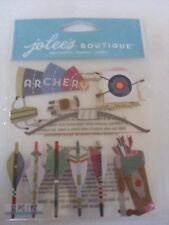 Jolee's Boutique 11 pc dimensional stickers - ARCHERY
