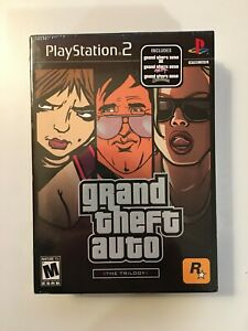 Grand Theft Auto:The Trilogy (Sony PlayStation 2 PS2 2006) Rockstar Games - NEW