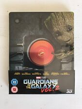 Guardians of the Galaxy vol. 2 - 3D Steelbook - Zavvi Exclusive - Brand New