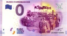 14 ARROMANCHES Musée du Débarquement, 2017, Billet 0 € Souvenir
