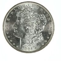 Raw 1886 Morgan $1 Uncertified Ungraded US Mint 90% Silver Dollar Coin