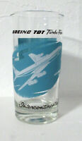 Boeing 707 Turbo Fan Intercontinental drinking glass