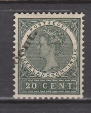 Nederlands Indie Netherlands Indies 62 MLH CANCEL 10 CENT STERK VERSCHOVEN 1905