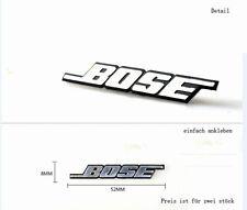 D904 2 stk. Lautsprecher auto aufkleber 3D Emblem Badge Schriftzug car Sticker