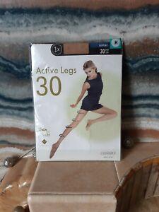Active Legs 30 Sheer Tights Medium