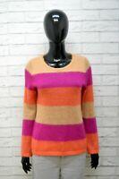 Cardigan Donna Marccain Taglia S Felpa Lana Maglia Pullover Maglione Sweater
