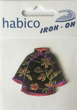 Habico Chinese Oriental Jacket Iron on Motif Patch Child or Adult Embellishment