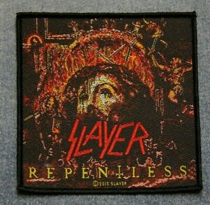 Slayer Repentless sew on patch retro Official merchandise rock