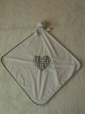 MOTHERCARE - MADE WITH LOVE UNISEX BABY COMFORTER TEDDY BLANKET SOFT TOY BLANKIE