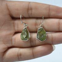 Peridot Gemstone Indian Handmade Jewelry 925 Solid Sterling Silver Stud Earring