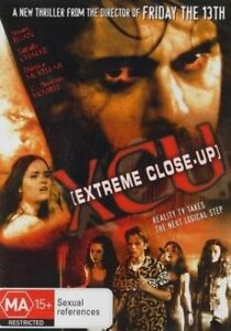 Extreme Close Up DVD 2001 Rare Horror Movie Director of Friday the 13th