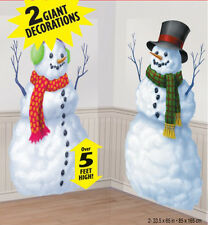 Christmas scene setters *Snowman*   Christmas Party Wall decoration