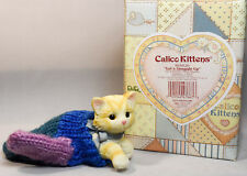 Calico Kittens: Let's Snuggle Up - 865826 - Cat In Knitted Mitten - Rare