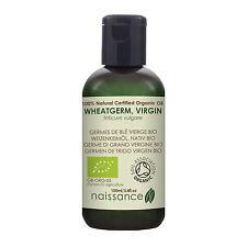 Naissance Wheatgerm Oil 100ml Certified Organic 100 Pure
