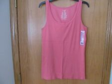 Women's ISLAND CORAL ribbed Tank Top~ Size SMALL (4-6)~NEW w/tags