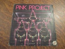 45 tours PINK PROJECT disco project