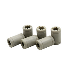 10pcs 3D Printer Polymer LM8UU Bearing Bushing 8mm RJ4JP-01-08 Anet A8 Prusa UK