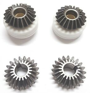 PRISMAFOOD Genuine Metal Gear Set for Pizza Dough Rollers S42/A SP42