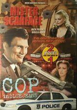 Mister Scarface Cop Blue Jeans DVD 2 Mov Action & Adventure Crime Investigation