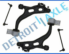 (2) New Both Front Lower Control Arms + Ball Joints + Sway Bar Links for Flex