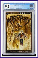 Superman's Metropolis #nn CGC Graded 9.6 DC 1996 White Pages Comic Book.