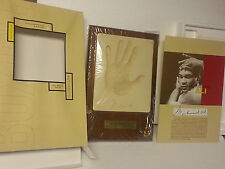 "Muhammad Ali ""The Boxing Series"" Authentic Handprint Silk Roads Gifts Original"