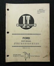 Ford 1300 1500 1700 1900 1110 1210 1310 1510 1710 1910 2110 Tractor Shop Manual