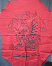 """ORIGINAL VINTAGE ROLLING STONES BANNER FROM TOUR OF 1981-- 44 1/2""""  X  56--/RARE"""