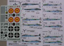 Jochen Helbig 2078 1//72 Decals für eine Ju 88 Hpt