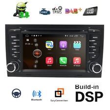"""7"""" Double 2 DIN Car Stereo Android 10 For Audi A4 B6 B7 S4 Head Unit Radio DVD"""