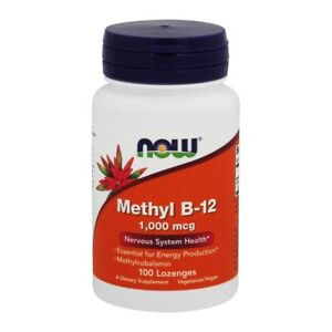NOW Foods Methyl B12 1000 mcg., 100 Lozenges
