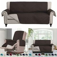 Chocolate Slipcover Sofa Cover Couch Chair Loveseat Protector Furniture Pet Mat