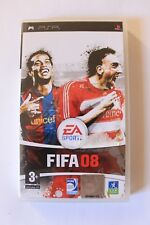 FIFA 08 complet PAL FR Sony PSP
