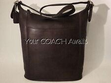 New Coach SLIM DUFFLE SAC ~Vintage Zip Hobo Bag~ Mahogany Classic #9060~NWOT~NOS