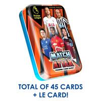 2018-19 TOPPS MATCH ATTAX PREMIER LEAGUE CARDS MINI TIN 45 CARDS + LE GOLD CARD