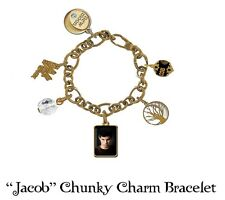 Twilight New Moon Armband Chunky Charm 'Jacob' NECA