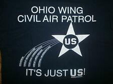 OHIO WING CIVIL AIR PATROL T SHIRT vtg Squadron CAP Great Lakes Region Air Force