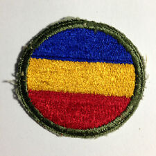 VINTAGE MILITARY PATCH- U.S. ARMY WWII REPLACEMENT AND SCHOOL COMMAND