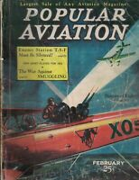 Popular Aviation Magazine February 1932 New Army Planes Bert White