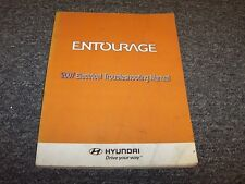 2007 Hyundai Entourage Electrical Wiring Diagram Manual SE GLS Limited 3.8L V6