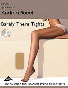 Barely There 8 Denier Tights with Sandal Toe Andrea Bucci by Marie Claire BNIP