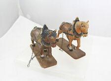Elastolin - Pair of Draft Horses - Germany
