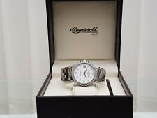 Original INGERSOLL Herrenuhr Swiss Made 3 Diamanten UVP £ 480 Boxed (A62