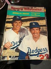 Sports Illustrated Aug 20, 1973 Los Angeles Dodgers Bill Russell Claude Osteen